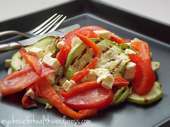 salata cu dovlecei si ardei 1