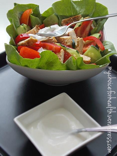 salata pui cu iaurt 1