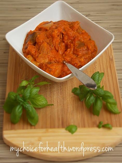 paste integrale cu ciuperci si legume 4