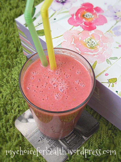 smoothie zmeura si piersici 2