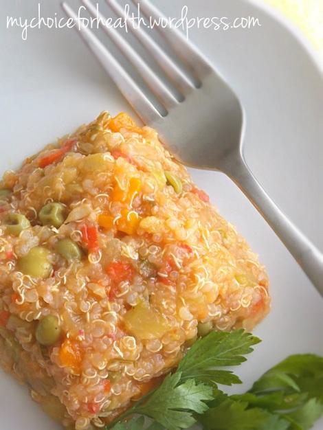 quinoa cu legume 1