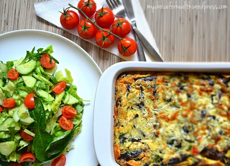 salata cu omleta
