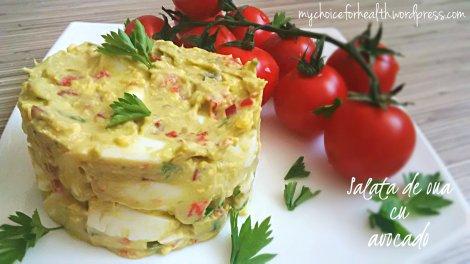 salata de oua cu avocado v