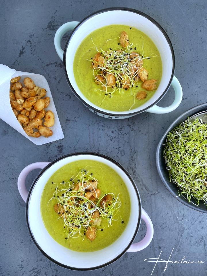 Supă cremă de fasoleverde